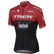 Sportful Trek-Segafredo BodyFit Pro Team Short Sleeve Jersey - Black/Red/White