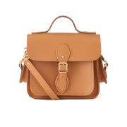 The Cambridge Satchel Company Women's Traveller Bag with Side Pockets - Ochre