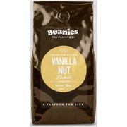 Beanies Premium Vanilla Nut Roast Coffee - 1kg (Medium Grind)
