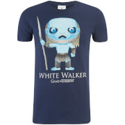 Game of Thrones Men's White Walker Funko T-Shirt - Navy