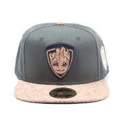 Marvel Guardians of the Galaxy Vol. 2 Groot Snapback Cap - Green/Cork