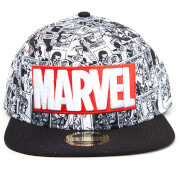 Marvel Classic Logo Snapback Cap - Multi
