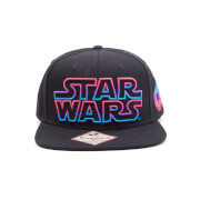 Gorra Star Wars Logo Colores - Negro