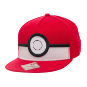 Pokémon Poké Ball Snapback Cap - Grey/Multi