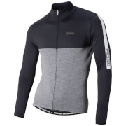 Nalini Mantova Warm Long Sleeve Jersey - Black/Grey