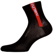 Nalini Red Socks H13 - Black