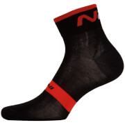 Nalini NA Socks H12 - Black/Red