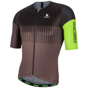 Nalini Velodromo Short Sleeve Jersey - Black/Green