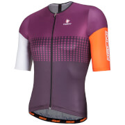 Nalini Velodromo Short Sleeve Jersey - Purple