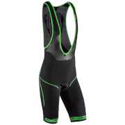 Nalini San Zeno Bib Shorts - Black/Green