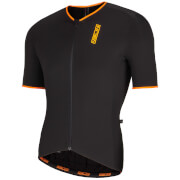 Nalini Xtornado Ti Short Sleeve Jersey - Black/Orange