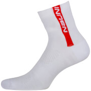 Nalini Red Socks H13 - White