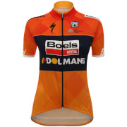 Santini Women's Team Boels Dolmans 17 Jersey - Orange