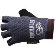 Santini Giro d'Italia 2017 Stage 16 Rovetta - Bormio Race Gloves - Grey