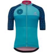 Santini Giro d'Italia 2017 Stage 1 Sardinia Jersey - Blue