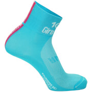 Santini Giro d'Italia 2017 Stage 1 Sardinia Coolmax Socks - Blue