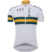 Santini Australian National Team 17 Jersey - White