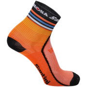 Santini De Rosa 17 Coolmax Socks - Orange