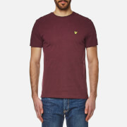 Lyle & Scott Men's Crew Neck T-Shirt - Claret Marl