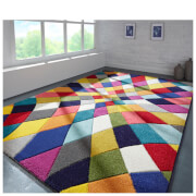 Flair Spectrum Rhumba Rug - Multi