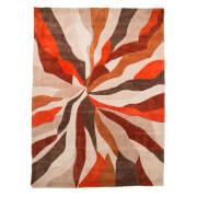 Flair Infinite Splinter Rug - Orange