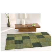 Flair Infinite Inspire Rug - Squared Green