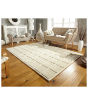 Flair Textures Textured Rug - Blocks Ivory