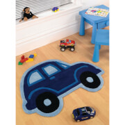 Flair Kiddy Play Rug - Car Boy (80X100)