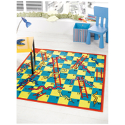 Tapis Flair Matrix Disney Rugs - Jeu de l'Échelle Multi (133X133)