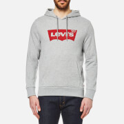 Levi's Men's Graphic Po Hoody - Midtone Grey