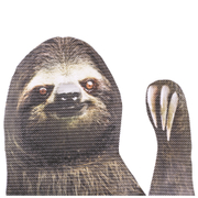 Ride With Car Stickers - Sloth