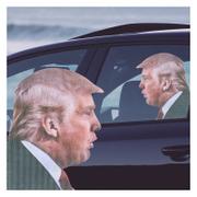 Autocollant de Voiture -Donald Trump