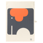 Orla Kiely Tea Towel - Elephant