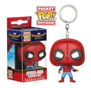 Spider-Man Homemade suit Pocket Pop! Vinyl Keychain