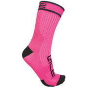 Alé Power 15cm Cuff Cycling Socks - Pink/Black