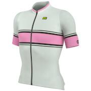 Alé R-EV1 Speed Fondo Jersey - White/Pink