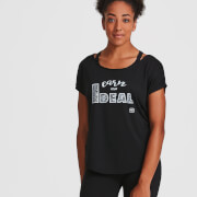 IdealFit Core Scoop Hem T-Shirt - Black