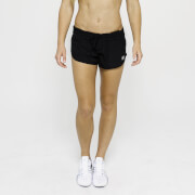 S - IdealFit 4-Way Stretch Shorts - Black