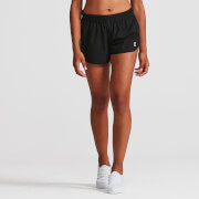 IdealFit 4-Way Stretch Shorts - Black