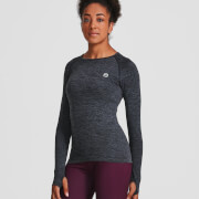 IdealFit Seamless Long Sleeve Top - Black