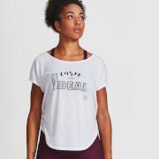 IdealFit Core Scoop Hem T-Shirt - White