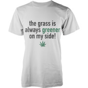 The Grass Is Always Greener On My Side T-Shirt - White