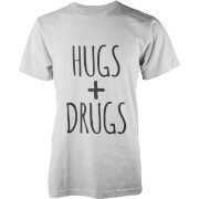 Hugs + Drugs T-Shirt - White
