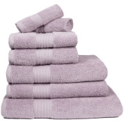 Restmor 100% Egyptian Cotton 7 Piece Supreme Towel Bale Set (500gsm) - Mauve