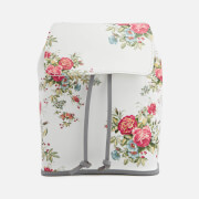 Grafea Fey Blossom Leather Rucksack - White