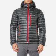 Montane Men's Featherlite Down Jacket - Shadow/Alpine Red