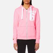 Superdry Women's Osaka 6 Zip Hoody - Snowy Ultra Pink