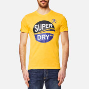 Superdry Men's Slalom T-Shirt - Vibrant Yellow Slub