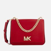 MICHAEL MICHAEL KORS Women's Mott Large Chain Swag Shoulder Bag - Bright Red
