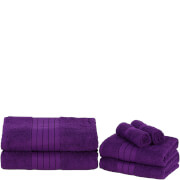 Highams 100% Egyptian Cotton 6 Piece Towel Bale (500 gsm) - Grape